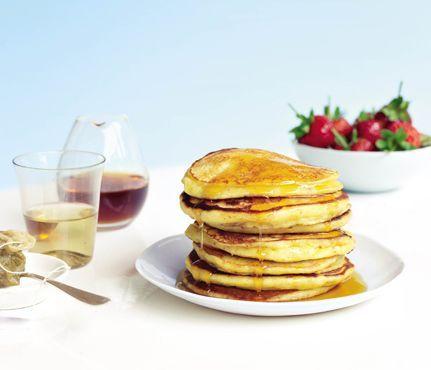 Bruce Paltrow's World-Famous Pancakes: Recipes: Self.com