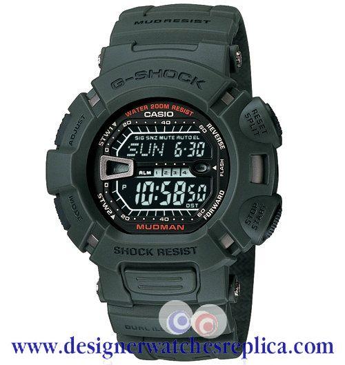Replica Casio G-Shock Mudman Green Digital Mens Watch G9000-3V €137.00 http://www.designerwatchesreplica.com/replica-casio-gshock-mudman-green-digital-mens-watch-g90003v-p-342.html