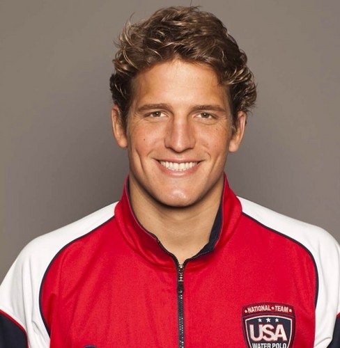 Shea Buckner is a water polo player for the United States.