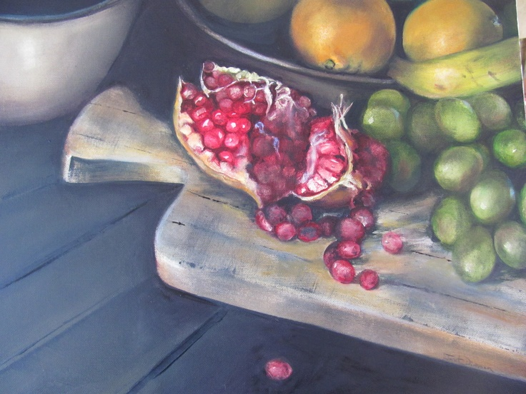 Fruit Platter by Janet Dirksen