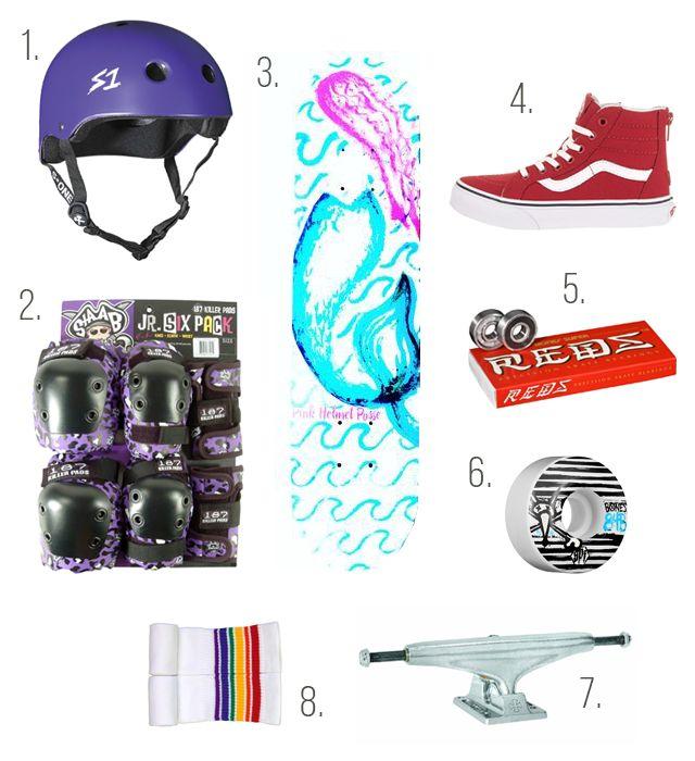 Kids Skateboard Gear Setup