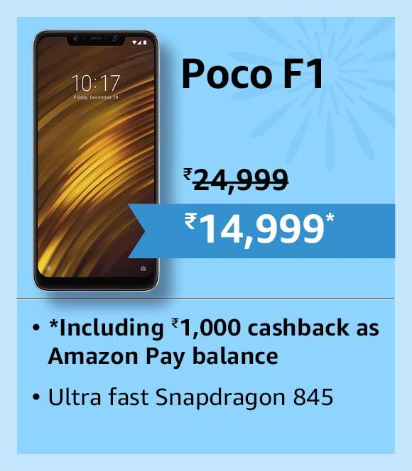 Get Heavy Discount On Oppo Poco F1 Mobile In This Festival
