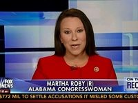 """On Wednesday's """"On the Record"""" on the Fox News Channel, Rep. Martha Roby (R-AL) laid out an argument that this administration is using the inspection powers of the Occupational Safety and Health Administration (OSHA) to target non-union plants in South at far more disproportionate rate than anywhere else in the country. She added that also these OSHA inspectors were being accompanied by union representatives to non-union shops.     Follow Jeff on Twitter  @jeff_poor"""