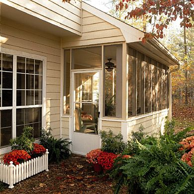 78 best ideas about small sunroom on pinterest small for Putting an addition on your house