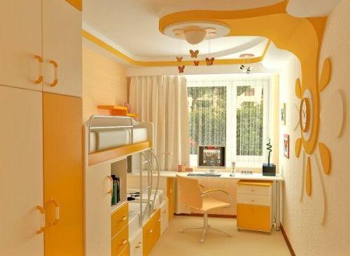 Детские комнаты 10 кв. м