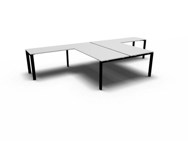 details zu schreibtisch f r 2 personen glider team arbeitsplatz b rotisch arbeitszimmer b ro. Black Bedroom Furniture Sets. Home Design Ideas
