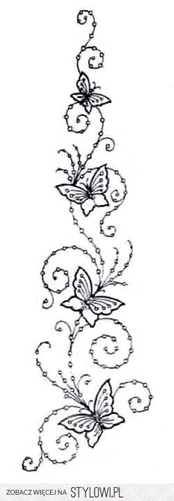 Free Hand Embroidery Patterns - Pintangle on Stylowi.pl