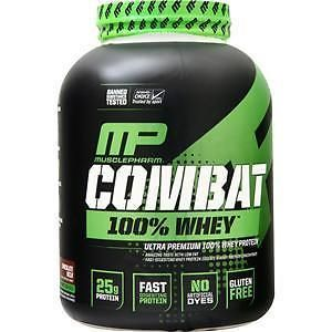 Protein Shakes and Bodybuilding: Muscle Pharm Combat 100% Whey Chocolate 5 Lbs -> BUY IT NOW ONLY: $38.17 on eBay!