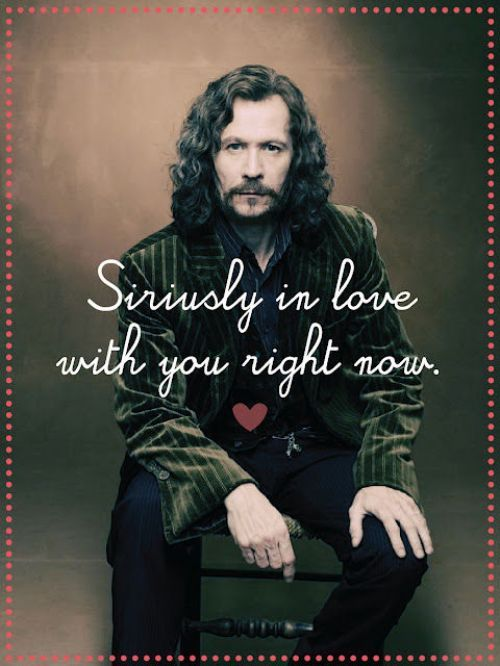 Please be my valentine! :D: Valentine'S Day, Sirius Black, Gary Oldman, Potter Valentines, Harry Potter, Valentines Cards, Hp Valentine'S, Memorial Mornings, Valentines Day Cards