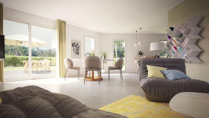 Visite virtuelle d'une maison contemporaine | Maison ...