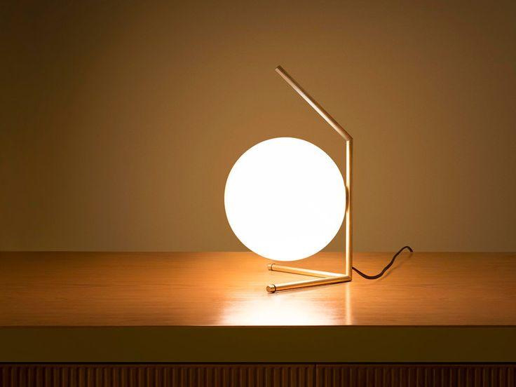 Low Table Lamp designed by Michael Anastassiades   #InteriorDesign #Decor #TableLamp #LuxuryLighting #MidCentury For more inspiring images, click here: http://www.delightfull.eu/en/