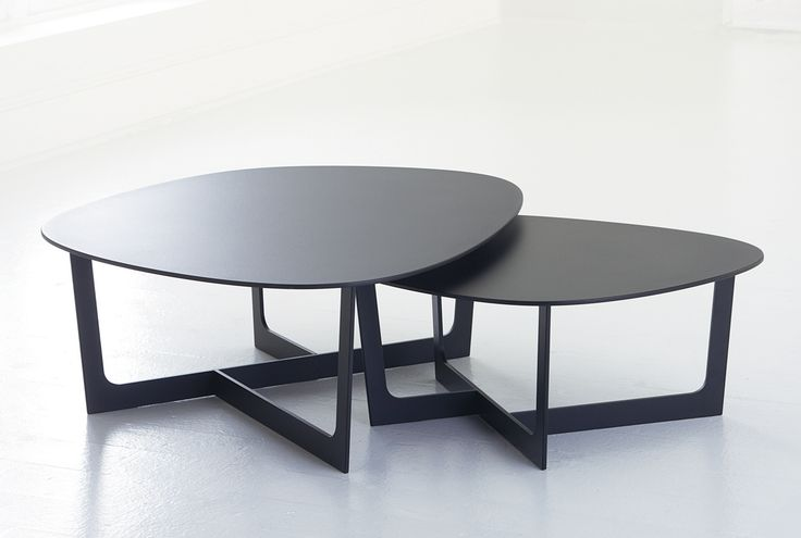 Insula Coffee tables by Hightower.  Love the way they nest.