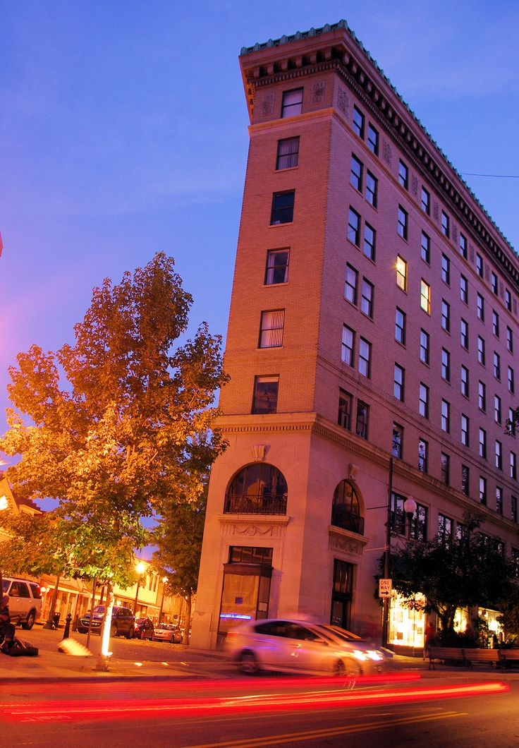 Lovely Flat Iron Building In Downtown #Asheville, NC