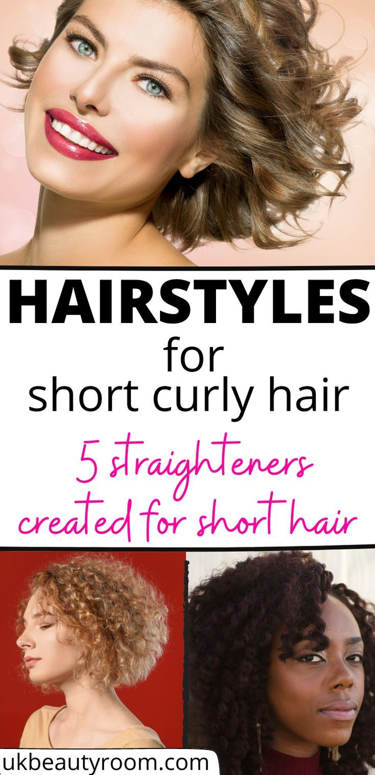 Best Straighteners For Short Hair In The Uk In 2020 Hair Irons Hair Straightening Iron Curly Hair Styles