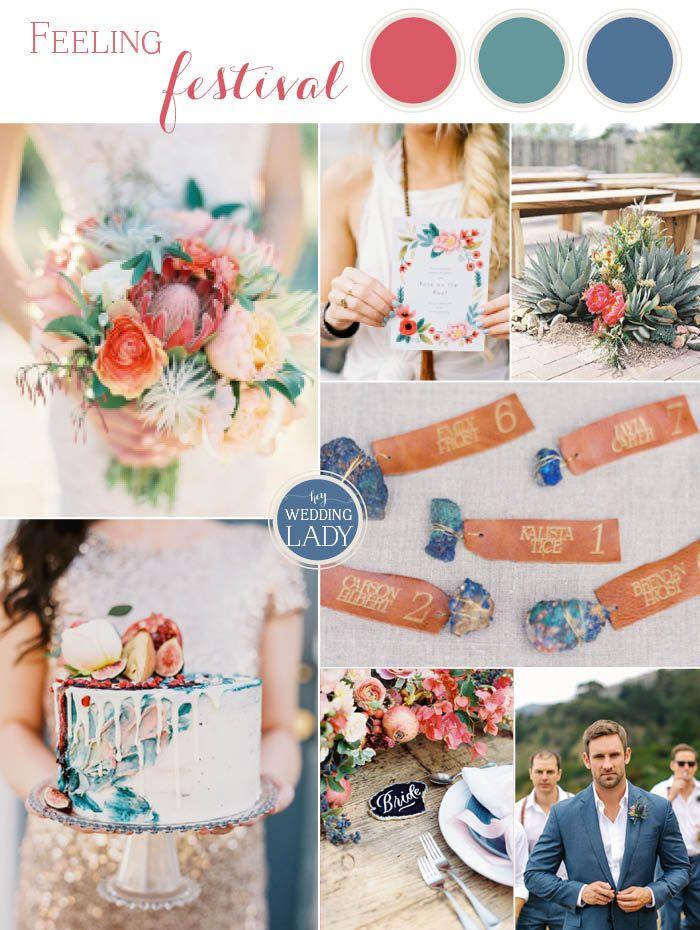 Colorful Desert Festival Wedding Inspiration