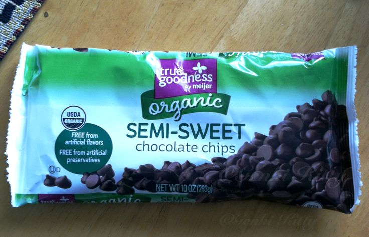 Meijer Organic Semi-Sweet Chocolate Chips