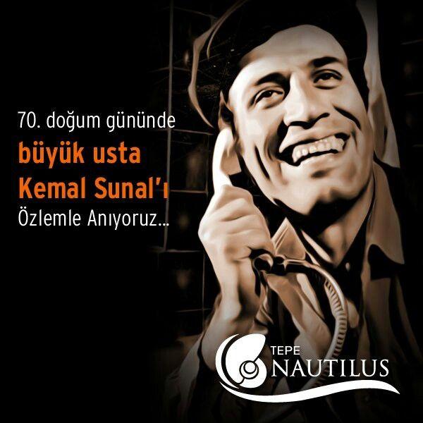 70. doğum gününde büyük usta Kemal Sunal'ı özlemle anıyoruz...