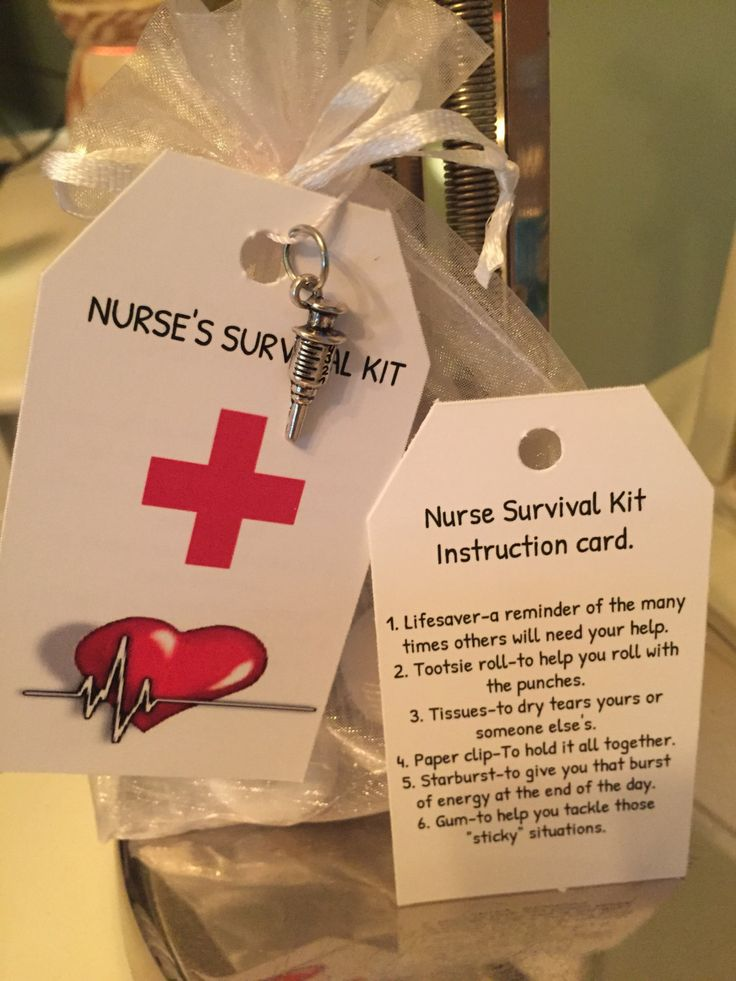 199 best nursing crafts images on pinterest clay pot crafts nurse survival kit by on etsydiy gifts for coworkers solutioingenieria Choice Image