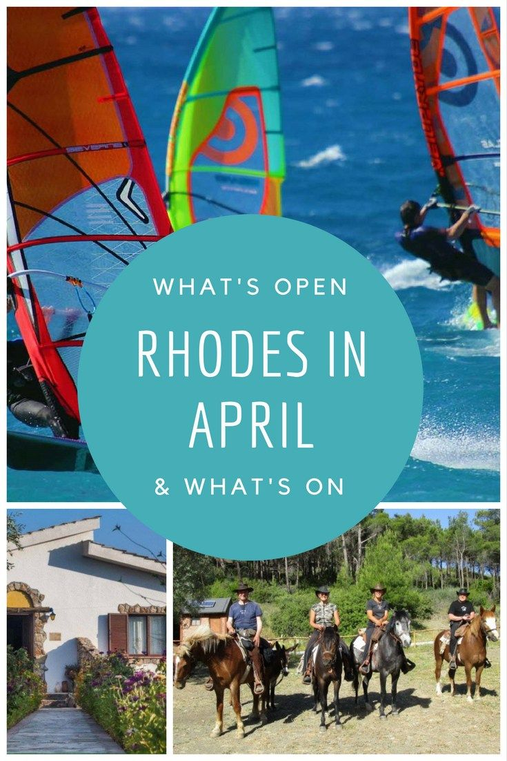Rhodes tourist season begins officially with the start of direct flights from around Europe on April 1st. The weather in spring is warm and sunny with great deals available on early flights come an…