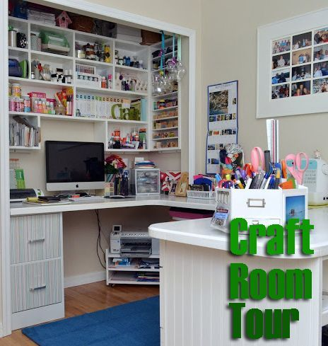 how to build a craft room table