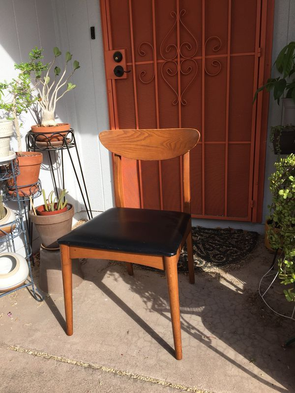 Heywood Wakefield Dining Chair Mid Century Modern Teak Desk Furniture In Phoenix Az Offerup