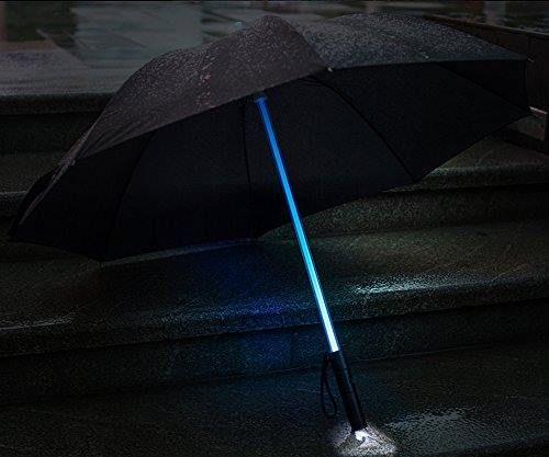 Paraguas LED Blade Runner / sable de luz Star Wars http://www.milideaspararegalar.es/producto/paraguas-led-blade-runner-star-wars/