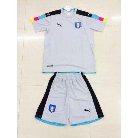 #Italien Trøje Børn 2016 Målmand Grøn Fodboldtrøje Kort ærmer.199,62KR.shirtshopservice@gmail.com