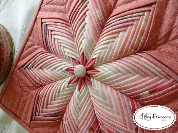 15 best Quilt - Folded Star images on Pinterest | Quilt blocks ... : folded star quilt block - Adamdwight.com