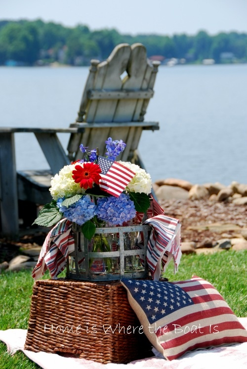 Happy Birthday, Blue, Lakes Home, 4Th Of July, Parties Ideas, 4Th July, Red White, July 4Th Decor, Memories Day