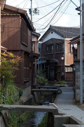 宿根木 Shukunegi village, Sado Island, Niigata