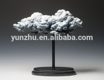 casting bronze abrstract cloud statue sculpture for home decoration use contemporary bronze sculpture