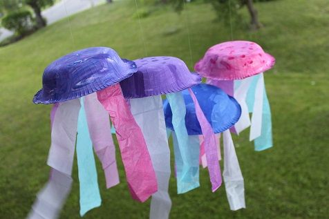 Jellyfish Craft for the letter J
