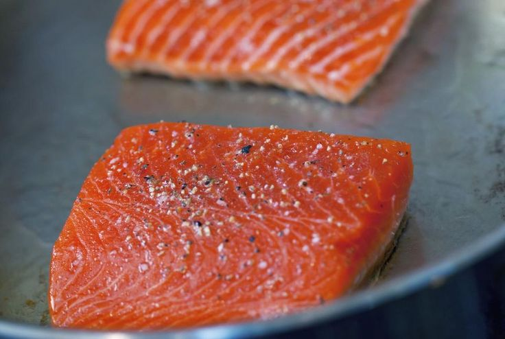 01 of 11This salmon recipe is melt-in-your-mouth delicious! Fillets of marinated salmon are grilled or pan-fried, searing in the flavors and omega-3 goodness of the fish. The salmon is then served …