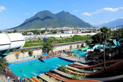 Parque Plaza Sésamo y al fondo el Cerro de la Silla en Monterrey, Nuevo Leon, Mexico. Tomás Ríos  Tour By Mexico - Google+