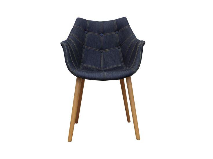 Aviator Bucket Chair - Denim