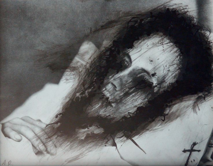 Masques Mortuaires by Arnulf Rainer