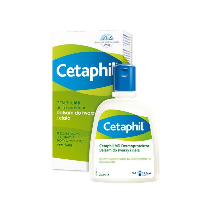 W Klubie Ekspertek możesz przetestować i ocenić Cetaphil MD Dermoprotektor balsam do twarzy i ciała (pinterest)