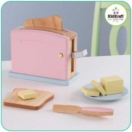 Pastel Toaster Set Available from MetroMum.com.au