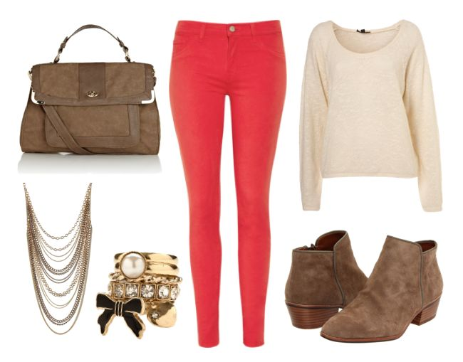 j brand red outfit 2 3 Different Outfits, 1 Pair Of Jeans: J Brand Red Skinnies