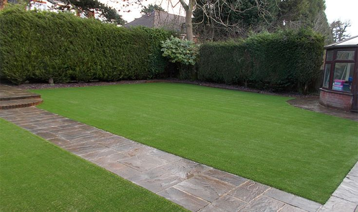 Completed artificial lawn installation in Caterham  #artificialgrasscaterham
