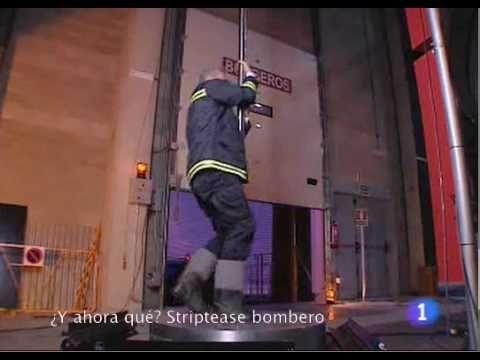 ¿Y ahora qué? Striptease bombero