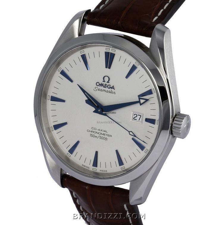 Omega Seamaster Aqua Terra Blau Gebraucht