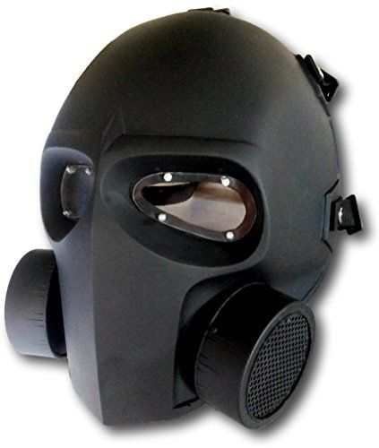 Invader King TM Gas Mask with Lens Army of Two Airsoft Mask Protective Gear Outdoor Sport Fancy Party Ghost Masks Bb Gun INVADER KING http://www.amazon.com/dp/B00SF6TQD8/ref=cm_sw_r_pi_dp_aoZFwb06CZT5D