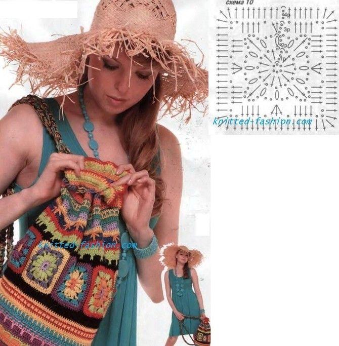 сумка оранжевая крючком,как связать сумку крючком,вязание крючком схемы,крючком модели и описания,