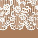 Lingerie Clip Art for Invitations | Seamless, dentelle, frontière, invitation, carte Clipart vecteur