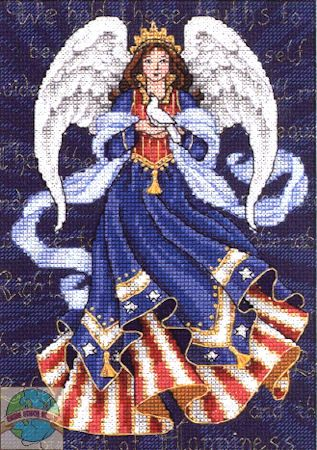 Gold Collection Petites - Patriotic Angel