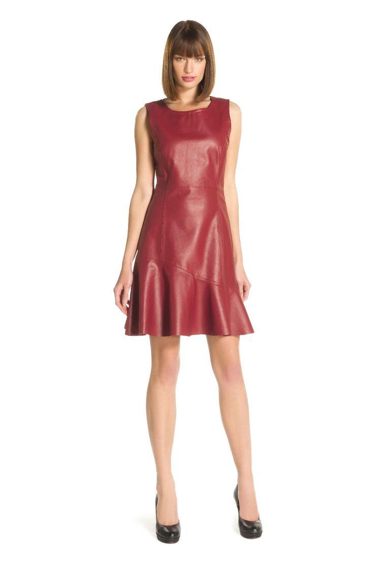 un peu de cuir robe ramoneur couleur rouge derhy With robe cuir rouge