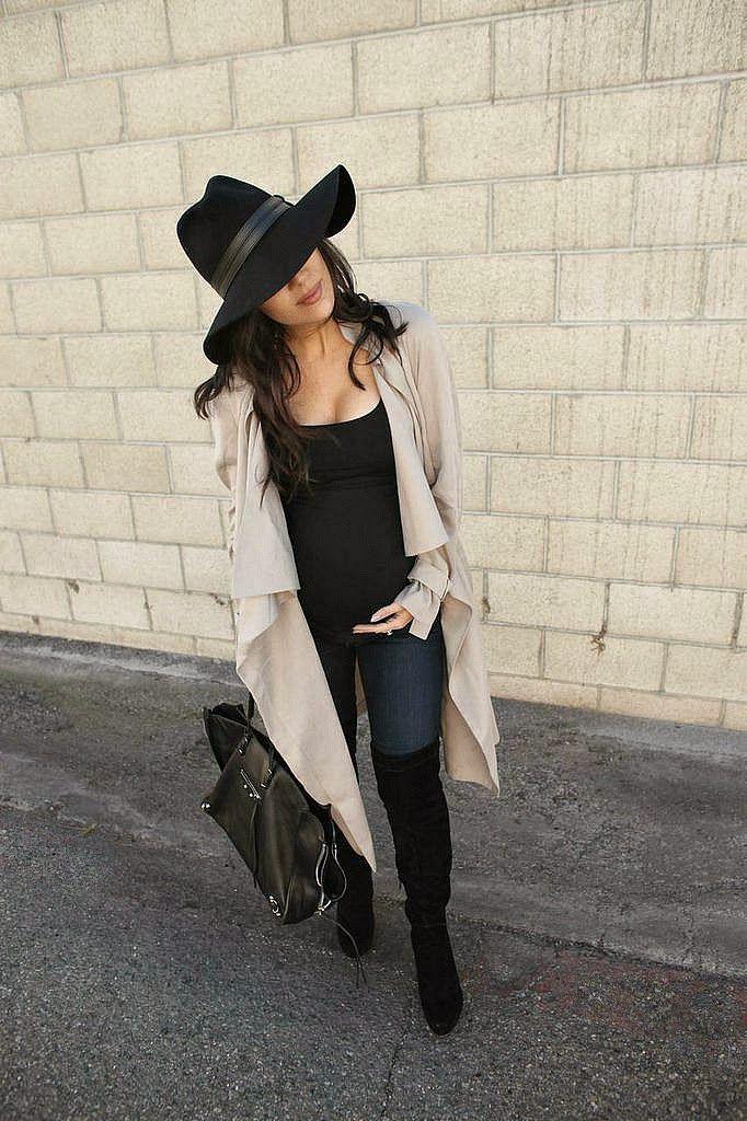 The HONEYBEE // Trench Coat Style (@nastygal  hat)