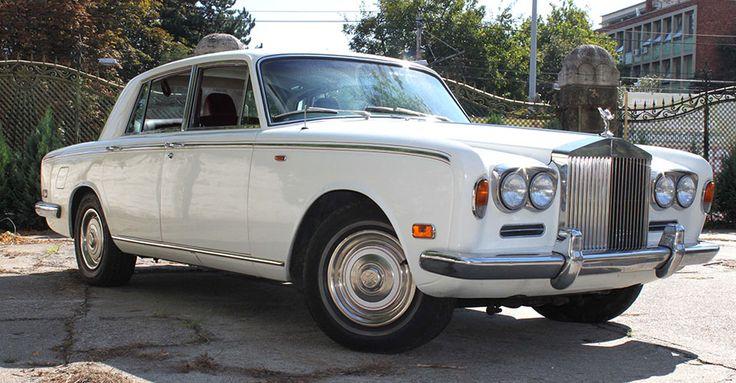 1972 Rolls Royce Silver Shadow | Álomautó Múzeum | Veterán autó bérlés | Oldtimer autók | Amerikai veterán autók | Régi amerikai autók | Veterán autó bérlés esküvőre és rendezvényre