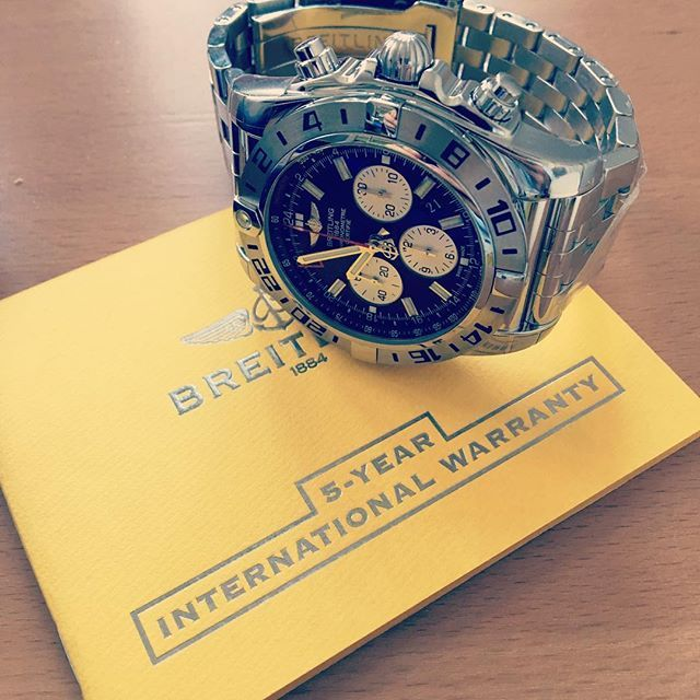 REPOST!!!  Did you know: #breitling, the #vompany is being sold to a private equity group as we speak. Big #news in the #watch #world. We love this #breitling #chronograph by the way :-)  Photo Credit: Instagram ID @timepiece_bank